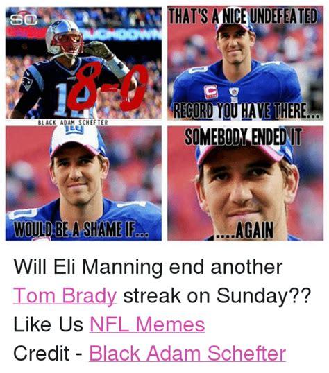 Brady Manning Meme - funny eli manning memes of 2016 on sizzle denver broncos