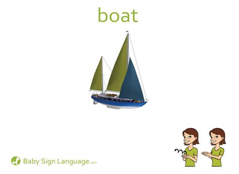 boat in sign language boat