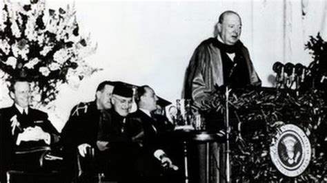 what is the iron curtain speech about a point of view churchill and the birth of the special