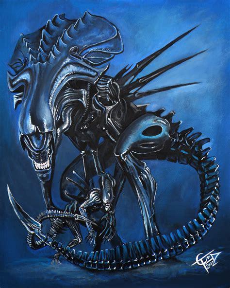 xenomorph queen aliens and predators alien queen by alien queen by zombietommm on deviantart