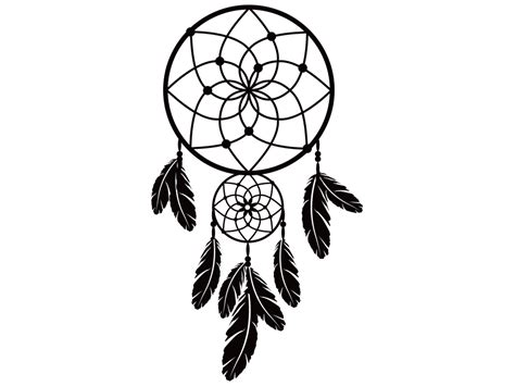 imagenes png tumblr en blanco y negro wall sticker dreamcatcher