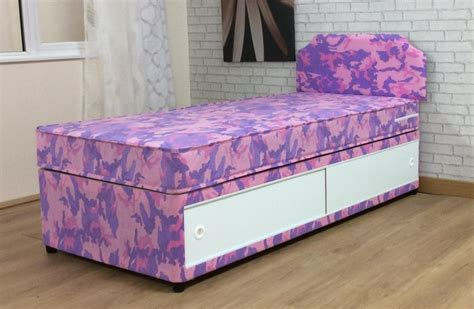 single divan bed with headboard 3ft girls single divan bed with mattress and headboard