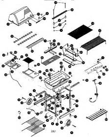 replacement parts for kenmore gas grill kenmore lp gas grill parts model 41515475 sears