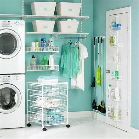 laundry room storage solutions new house idea small ideas 2 homelk com 193 rea de servi 231 o organizada e decorada blog aix casa