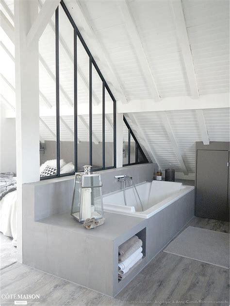 si鑒e salle de bain 17 meilleures id 233 es 224 propos de salle de bains ouverte sur