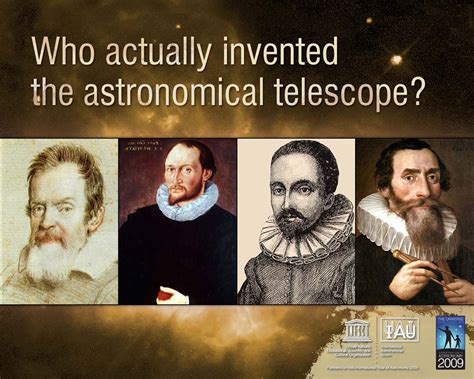 who invented the who invented the telescope astronomy 2009