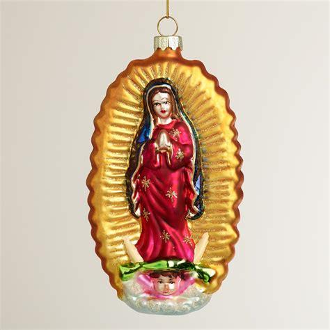 virgin of guadalupe ornament world market
