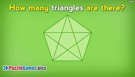 how many are there how many triangles are there in a inside a pentagon