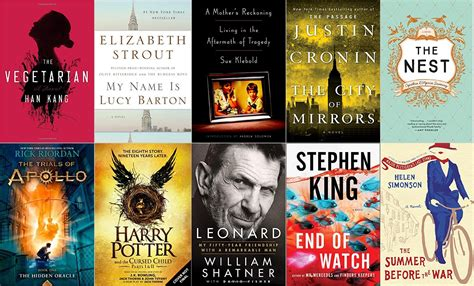 best new books for adults the best new e books of 2016
