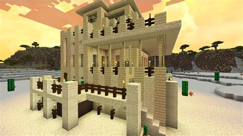 minecraft home design youtube minecraft desert house design youtube