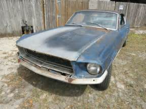 1967 fastback mustang project for sale 1967 mustang fastback 7t02a204493 project car eleanor
