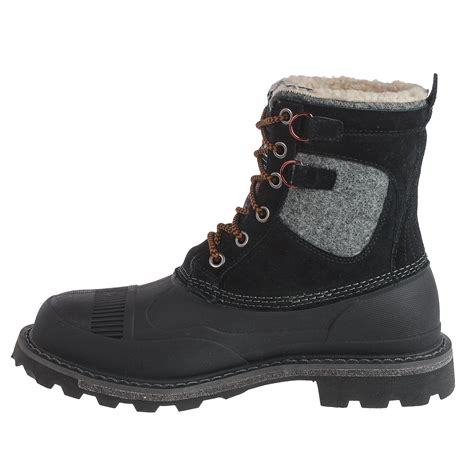 s pac boots woolrich fully wooly lace pac boots for