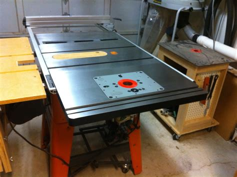 Ridgid Table Saw Extension by Ridgid Table Saw Myideasbedroom