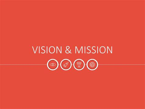 powerpoint templates free vision powerpoint template vision mission illustrations flat at