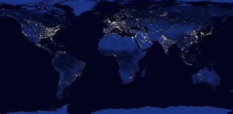 imagenes satelitales tierra un sat 233 lite inmortaliza la tierra en horario nocturno