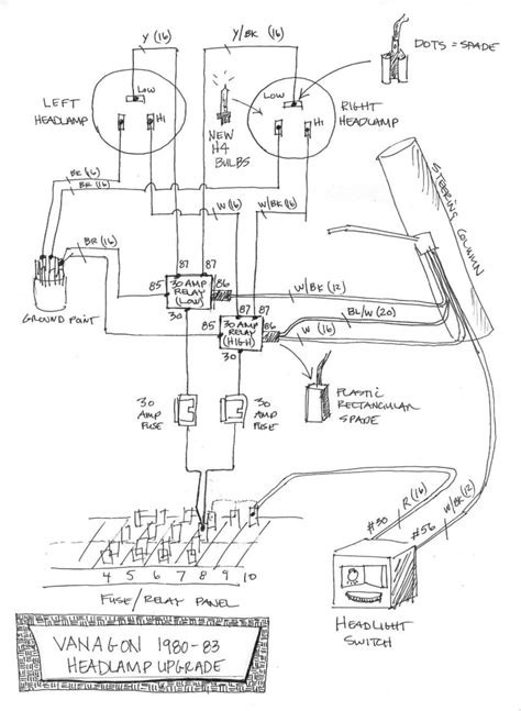1980 vanagon wiring harness 27 wiring diagram images