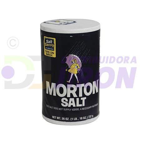 Morton Iodized Salt 737gr morton iodized salt 26 oz distribuidora jir 243 n
