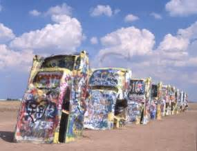 Cadillac Rach Cadillac Ranch Places I Ve Been
