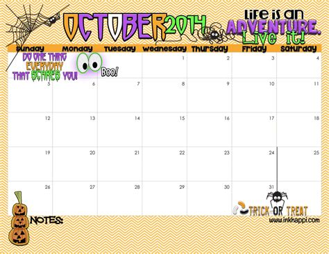 october 2014 calendar template 7 best images of october 2015 calendar printable