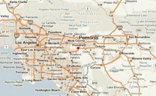 map pomona california pomona location guide
