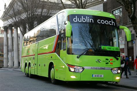 dublin couch dublin coach king long working the 15 45 to ennis via lime