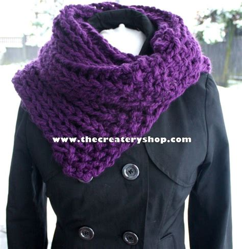 free easy cowl knitting patterns the createry shop free easy 3c chunky collar cowl