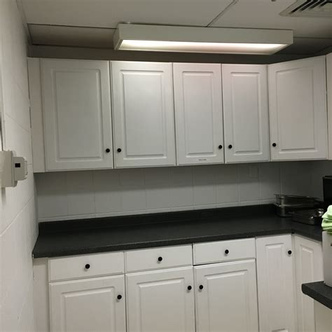 New Hardware For Kitchen Cabinets Eagle Scout Renovates Dietary Kitchen Of