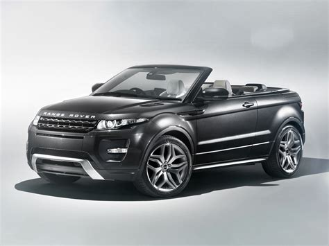 convertible land rover range rover evoque convertible enters production in 2014