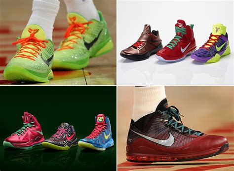 nike basketball signatures of christmas past sneakernews com