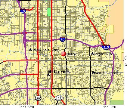 Slc Zip Code Map by 84106 Zip Code Salt Lake City Utah Profile Homes