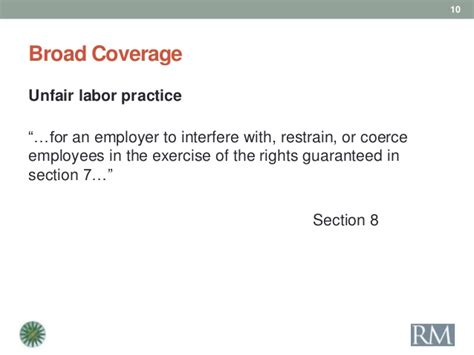nlra section 7 protected activity national labor relations board update