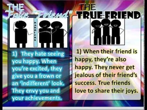Signs That You Are A Bad Friend by 13 Signs Of A True Friend V S The Quot Friend