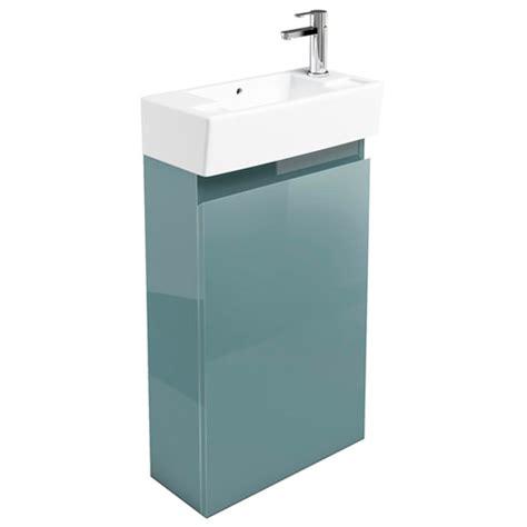 britton bathrooms narrow cloakroom floor mounted unit