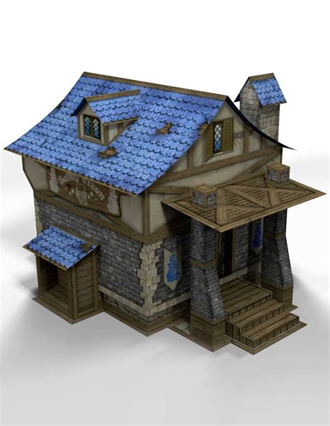 quot 3d quot a tavern 28mm papercraft wargaming terrain