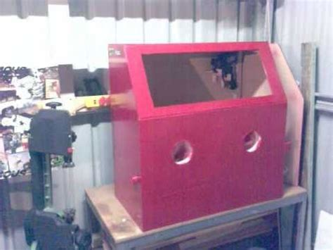 Diy Sandblasting Cabinet by Sandblasting Cabinet How To Save Money And Do