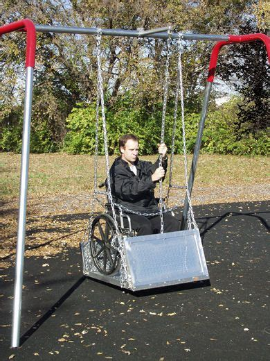 swings for disabled children pin by darlene brown on special needs disabilities