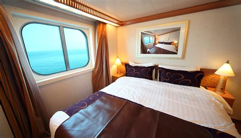 Cruise Ship Cabin Pictures ship cabin with big bed and window with