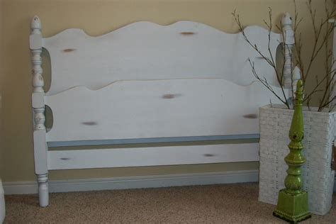 Distressed Headboard by Ary S Place Distressed Headboard Footboard Sold