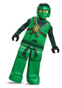 Legos Halloween Costume Ninjago Lloyd Prestige Costume Boys