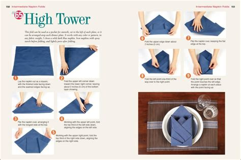 How To Do Napkin Origami - top 100 napkin folds