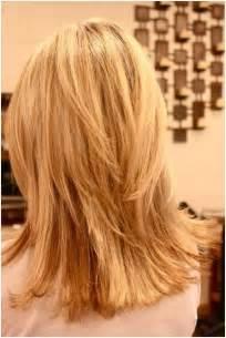 Choppy layered hairstyles blunt medium haircut popular haircuts