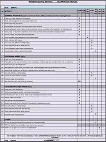 Restaurant Checklist Templates Free by Free Restaurant Cleaning Checklist Template Template