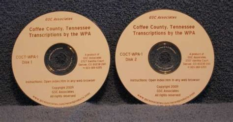 Coffee County Tn Records Coffee County Tennessee Records Transcribed And Indexed