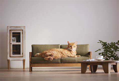 designboom cat furniture miniature cat furniture from japan to please your master