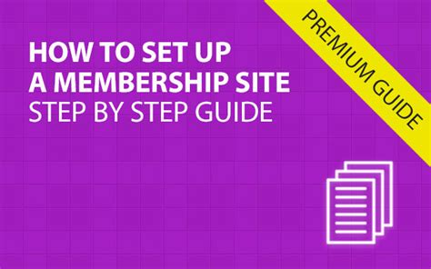 a step by step guide to set up your brand s youtube how to set up a membership site step by step guide