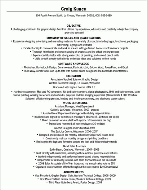 Bad Resume Exle by 10 Bad Resume Sle Personel Profile