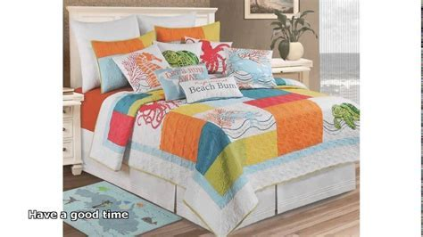 Beach Themed Bedding : Hawaiian Coastal Beach Bedrooms