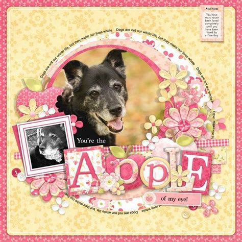 scrapbook layout ideas for pets pet scrapbook layout pet layouts pinterest