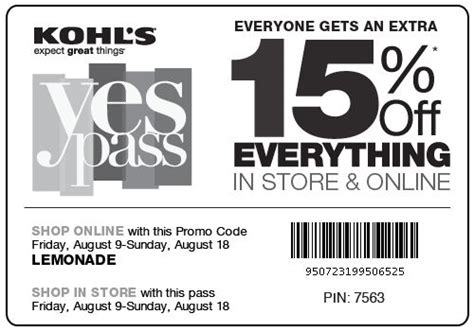 ls plus coupon 2017 17 best images about kohls coupons on great
