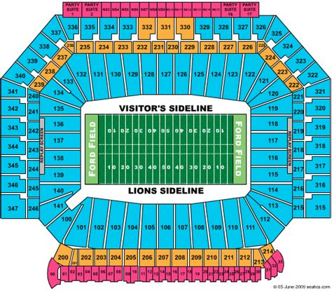ford field contact number kenny chesney tickets seating chart ford field football